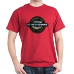 Dark Go Big Go Home Pike Fishing T-Shirt