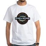 White Go Big Go Home Pike T-Shirt
