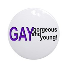 Fusions, Gay Ornament (Round)