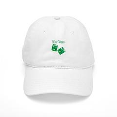 Las Vegas Green Dice Lucky Baseball Cap