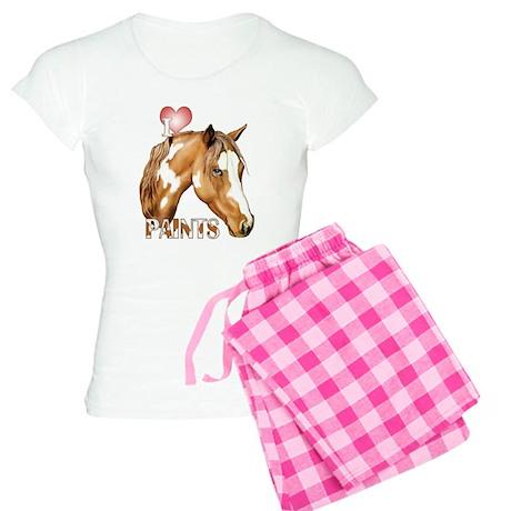 I Love (Heart) Paints Women's Light Pajamas