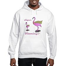Super Flamingo Hoodie