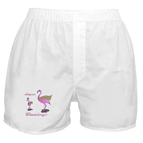 Super Flamingo Boxer Shorts