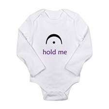 Funny Music Long Sleeve Infant Bodysuit