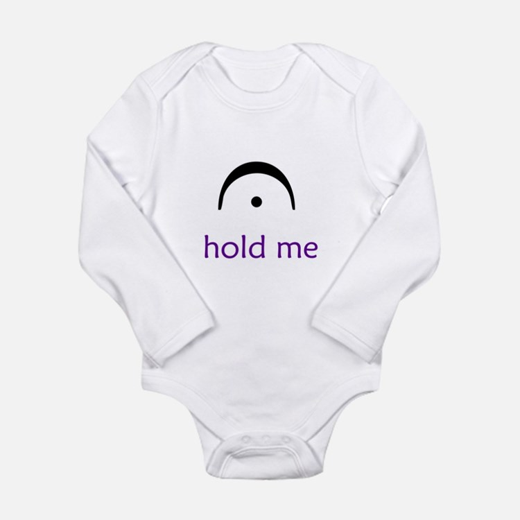Cute Geek Long Sleeve Infant Bodysuit
