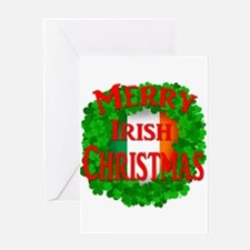 Irish Christmas Greeting Card