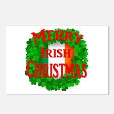 Irish Christmas Postcards (Package of 8)