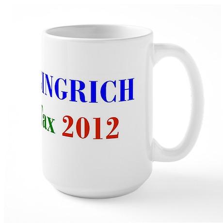Cain Gingrich FairTax Large Mug