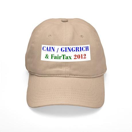 Cain Gingrich FairTax Cap