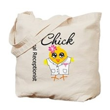 Medical Receptionist Chick Tote Bag