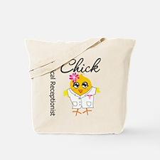 Medical Receptionist Chick Tote Bag