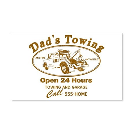 Dad's Towing 22x14 Wall Peel