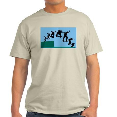 Skateboard Evolution Ash Grey T-Shirt