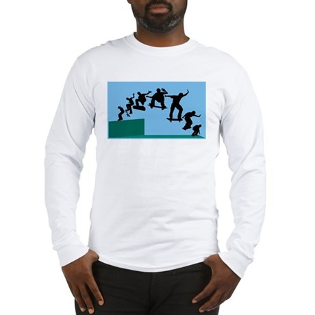 Skateboard Evolution Long Sleeve T-Shirt