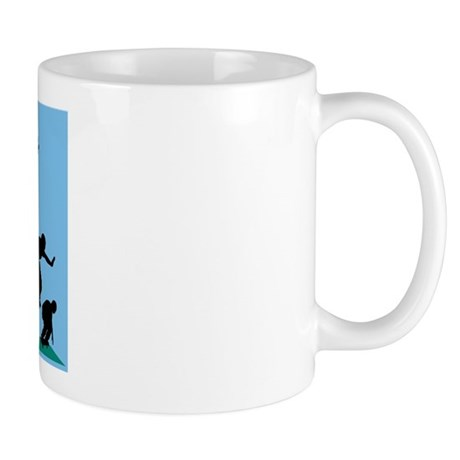Skateboard Evolution Mug
