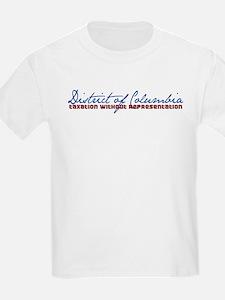D.C. TAX W/O REP Kids T-Shirt