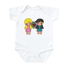 Unique Bad girls Infant Bodysuit