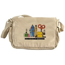 Obliquely Sneaky Messenger Bag