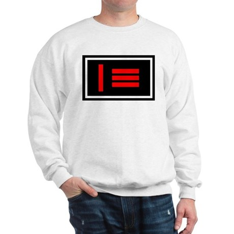 Master/slave Flag Long sleeve Sweatshirt