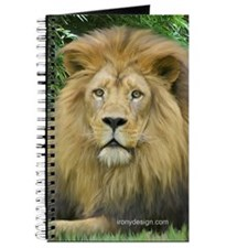 Lion - close up Journal