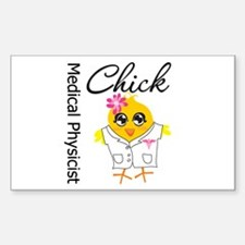 Medical Physicist Chick Decal