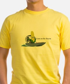 Corn On The Bayou Men's T-Shirt