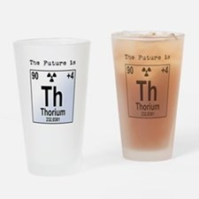 Thorium Element Drinking Glass