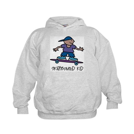CafePress  - Skateboard Kid Kids Hoodie