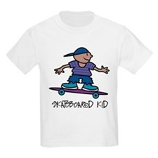 Skateboard Kid Kids T-Shirt
