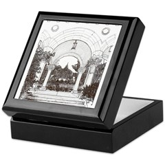 Arches Keepsake Box
