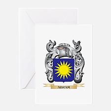 Abram Family Crest - Abram Coat of Greeting Cards