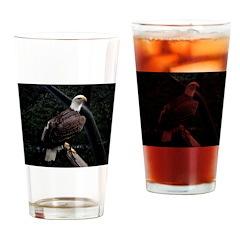 Amazing Eagle Decor Collectio Drinking Glass