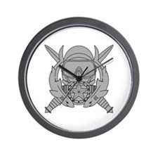 Combat Diver Supervisor Wall Clock
