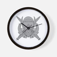 Combat Diver Supervisor Wall Clock