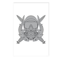 Combat Diver Supervisor Postcards (Package of 8)