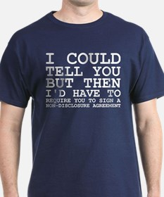 Non-Disclosure Agreement T-Shirt