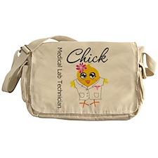 Medical Lab Technician Chick Messenger Bag
