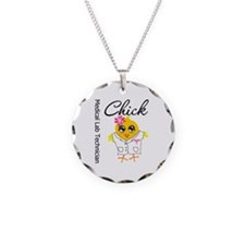 Medical Lab Technician Chick Necklace