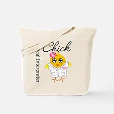 Medical Interpreter Chick Tote Bag