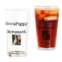 OccuPuppy Movement! Drinking Glass