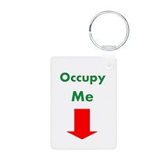 Occupy Me Keychains