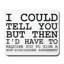 Non-Disclosure Agreement Mousepad