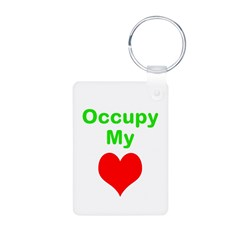 Occupy My Heart Keychains