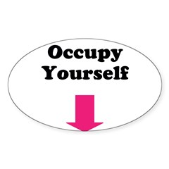 Occupy Yourself Decal