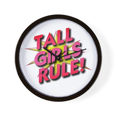Tall Girls Rule! Wall Clock