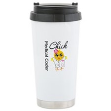 Medical Coder Chick Travel Mug