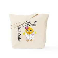 Medical Coder Chick Tote Bag
