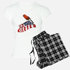 American Cardinal Pajamas