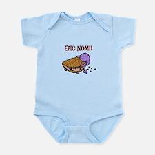 Fudge Taco Purple Devil Infant Bodysuit