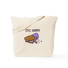 Fudge Taco Purple Devil Tote Bag